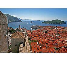 *Dubrovnik view* Photographic Print