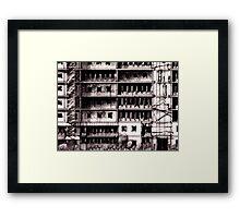 Precinct Zero Framed Print