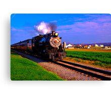 Choo Choo Number 90-Strasburg Railroad Canvas Print