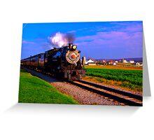 Choo Choo Number 90-Strasburg Railroad Greeting Card