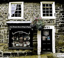 Shop Front. Oldest Sweet Shop in England. by Sue Smith