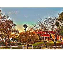 Edenvale Homestead at Dawn in HDR Photographic Print