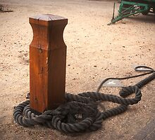Ship rope and pole by steppeland
