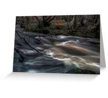 Charged Water Greeting Card