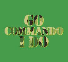 Go commando, I do One Piece - Short Sleeve