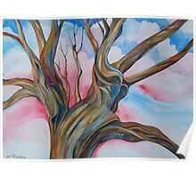 Fourth of July - the Happy Tree Poster