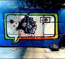 wall mural 2 by zeroe