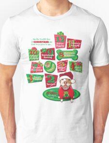 12 Dogs of Christmas T-Shirt