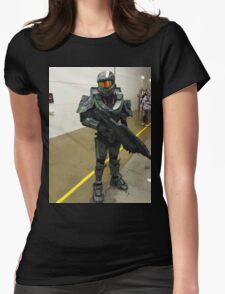 Halo Character Womens Fitted T-Shirt