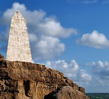 Trinity House Obelisk ~ Portland Bill by Susie Peek
