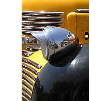 Headlight or Reflector ? Photographic Print