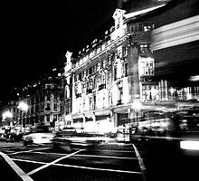 oxford street by Daniel Weeks