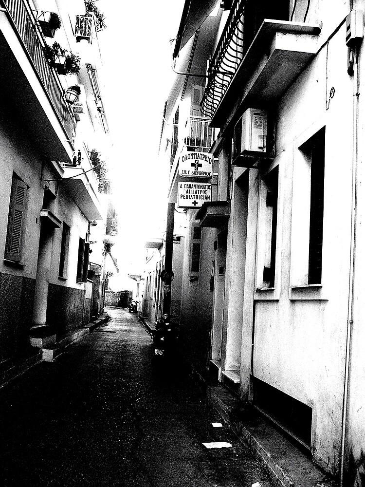 side street by Daniel Weeks