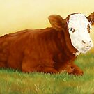 Billys&#x27; Calf by Margaret Stockdale