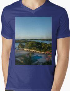 an unbelievable Belize landscape Mens V-Neck T-Shirt