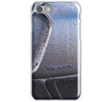 Ducati Diavel Carbon Black Pre-Wash Spray iPhone Case/Skin