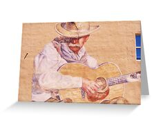 Stetson in Lower Downtown Greeting Card