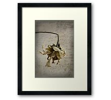 Postcard from the Past ~ No 3 Framed Print