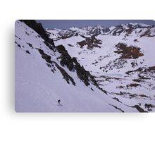 East Side Sierra Spring Skiing Canvas Print