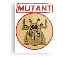 Mutant Logo Metal Print