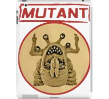 Mutant Logo iPad Case/Skin
