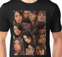 April Ludgate Collage Unisex T-Shirt