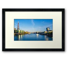 View from Tower Bridge Framed Print