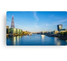 View from Tower Bridge Canvas Print
