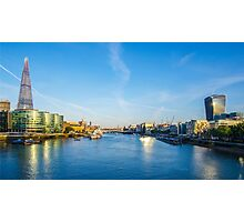 View from Tower Bridge Photographic Print