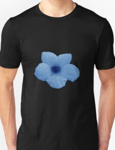 Potato Flower - Blue Unisex T-Shirt