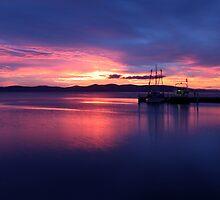 Hobart Sunrise by Jenni Tanner