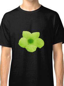 Potato Flower - Green Classic T-Shirt