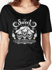 Funny Pastry Chef Skulls: The Sweet Life Women's Relaxed Fit T-Shirt