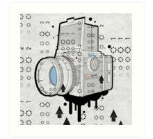 Bronica Format Art Print