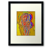 Mary and Baby Jesus Framed Print