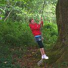 SWINGING ON GREAT- GRANDMAS OLD TREE by MsLiz