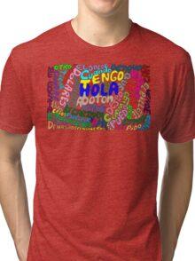 Espanol esoterico Tri-blend T-Shirt