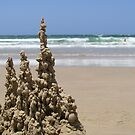 Slop Castle - Main Beach, Yamba, NSW by Deanna Roberts Think in Pictures