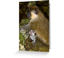 look mommy whos that Greeting Card