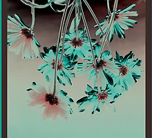 neon daisies by 1001cards