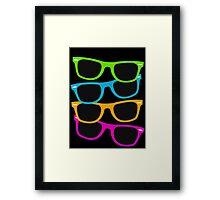 Retro sunglasses Framed Print