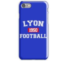 Lyon Football Athletic College Style 1 Color iPhone Case/Skin