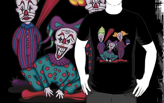Insane Clowns by Octavio Velazquez