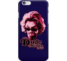Big Lebowski Pink iPhone Case/Skin