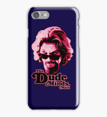 Big Lebowski Pink iPhone Case/Skin