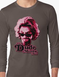 Big Lebowski Pink Long Sleeve T-Shirt