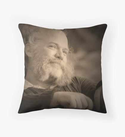 Friendly Face Throw Pillow
