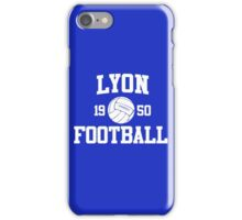 Lyon Football Athletic College Style 2 Color iPhone Case/Skin