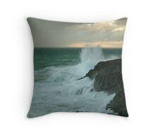 The Wild Side...Cape Bridgewater Throw Pillow