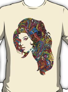 Amy Winehouse - Psychedelic T-Shirt